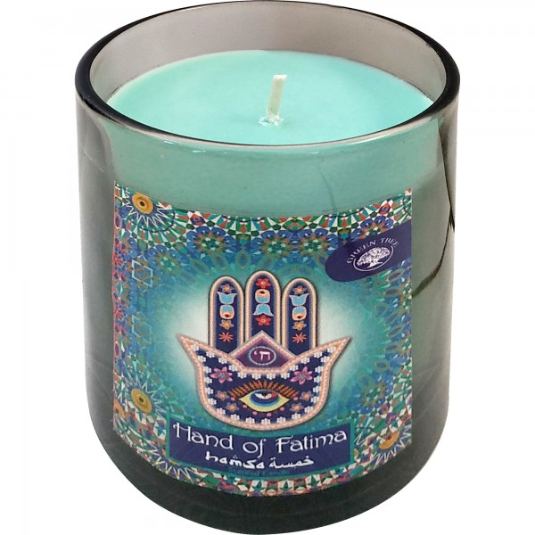 Duftkerze Hand of Fatima (Glas)