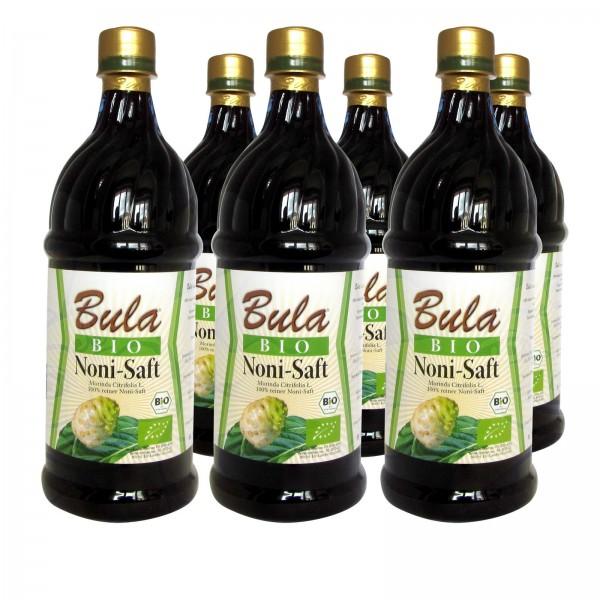 Bula Noni-Saft (6 x 1 Liter)