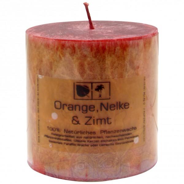 Duftkerze Orange, Nelke & Zimt