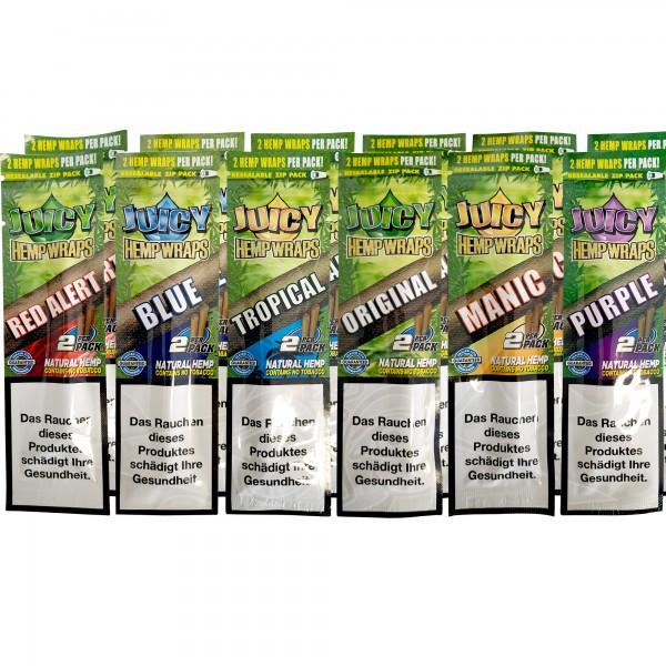 Juicy Hemp Wraps (12 x 2 Stück)