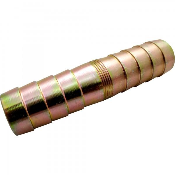 Schlauchverbinder DIN 20038 verzinkt