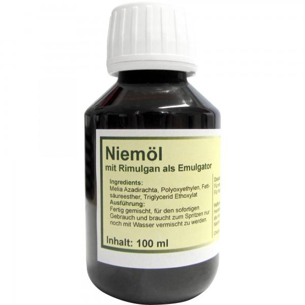 Niemulgan 100 ml - Niemöl mit Rimulgan als Emulgator fertig gemischt