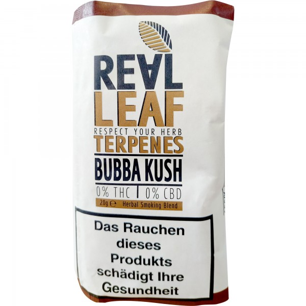 Real Leaf Terpenes Bubba Kush
