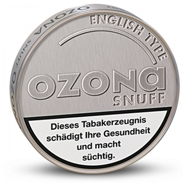 OZONA Snuff English Type