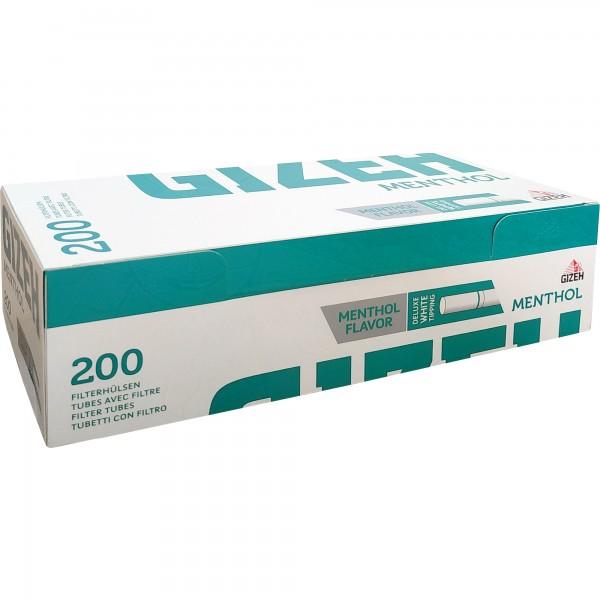 Filterhülsen Menthol (200 Filter)