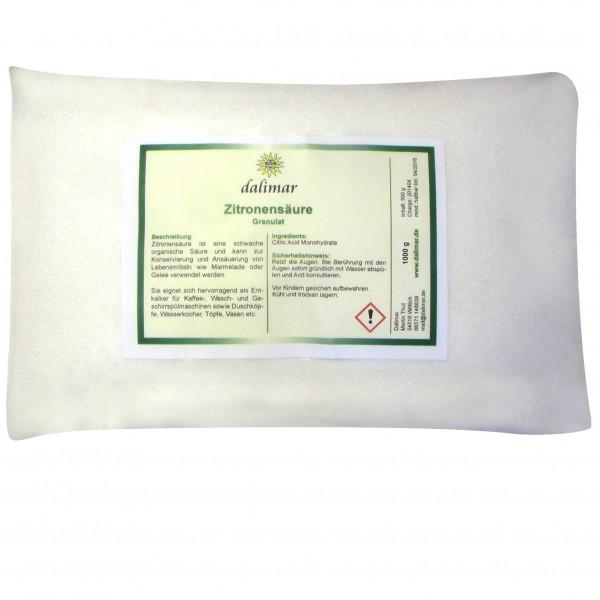 Dalimar Zitronensäure (1 kg)