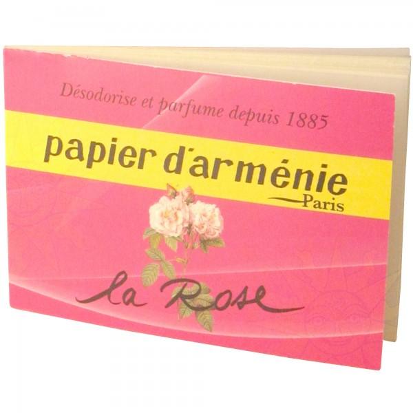 Papier d'Arménie ROSE (BOX:30 Heftchen)
