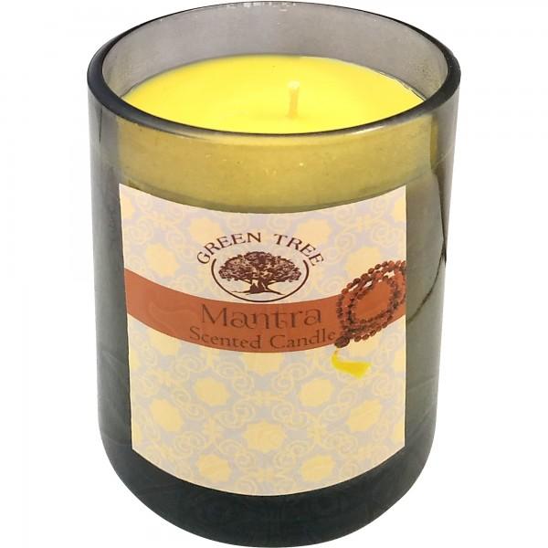 Duftkerze Mantra (Glas)