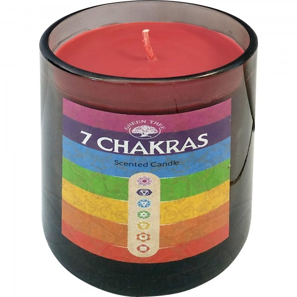 Duftkerze 7 Chakras (Glas)