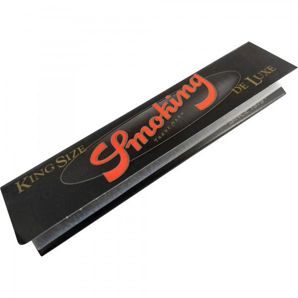 De Luxe Schwarz / Rot King Size (33 Blatt)