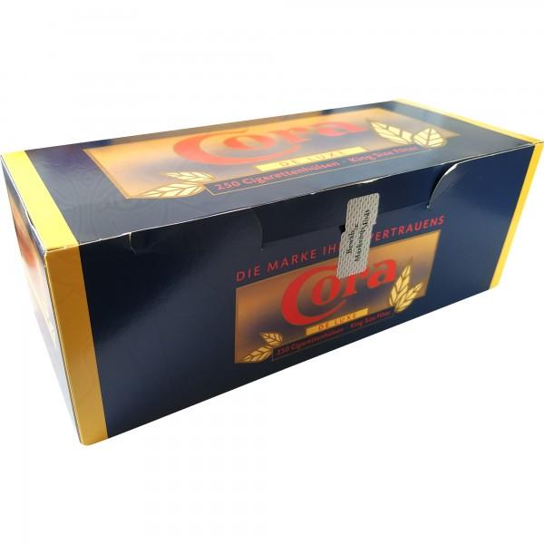 Cora De Luxe Cigarettenhülsen (250 Stück)